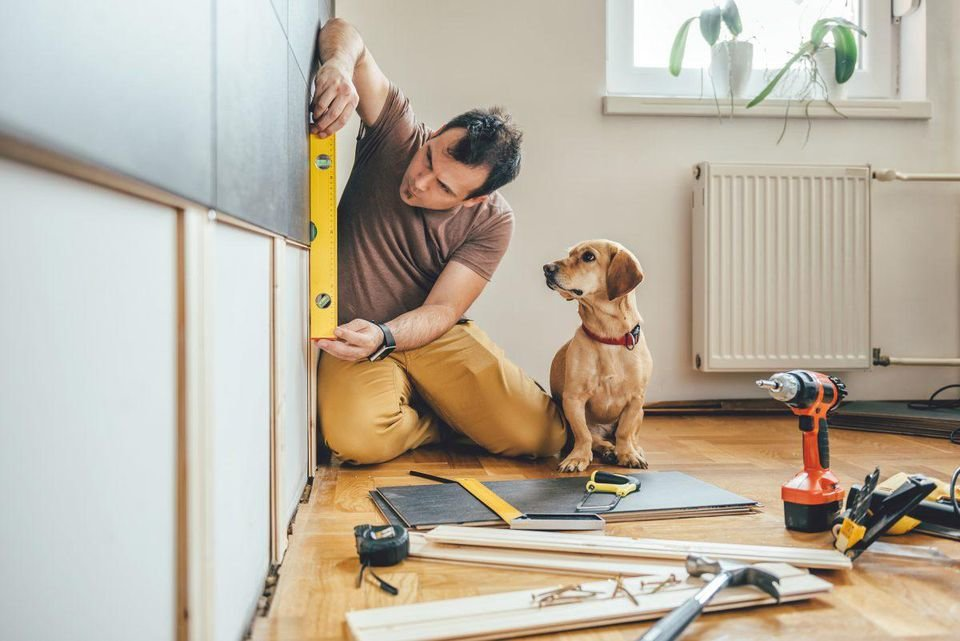 A home equity line of credit offers a solution for financing extended remodeling projects or other needs that require long-term funding. ADOBE STOCK